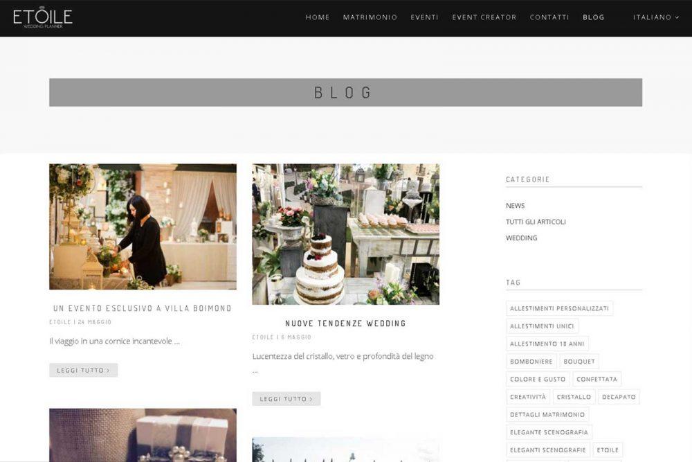 Realizzazione gestione e mantenimento blog aziendale
